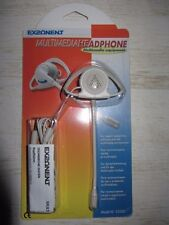 Multimedia Headphone casque/micro blanc