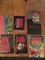 Dragon Warrior 1 Nintendo NES Game Manual Box Posters Handbook 90% Complete CIB