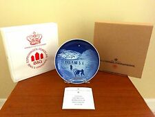 NEW 1972 B&G Bing and Grondahl Christmas Plate Direct From Factory Mint In Box