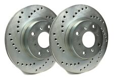 SP Front Rotors for 2005 A6 QUATTRO 4.2L V8 - 347mm | Drilled C01-321-P