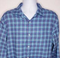 Vineyard Vines Classic Fit Murray Shirt Flannel Plaid Mens Size L