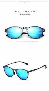 VEITHDIA Unisex Retro Aluminum Magnesium Brand Sunglasses Men/Women