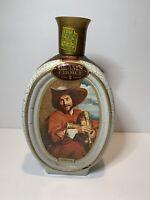 Vintage Jim Beam Whiskey Decanter Van Dyck The Bag Piper