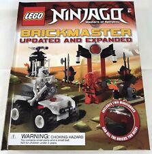 Lego Ninjago Brickmaster Masters of Spinjitzu Updated Expanded Book 150 Pc New