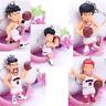 5pcs Anime SLAM DUNK Key Ring Pendant PVC Action Figure Toy Keychain Gift