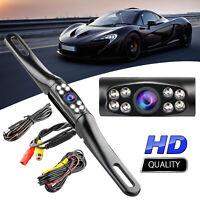 Wide 170° Night Vision Car Rear View Reverse Backup Parking Camera Waterproof
