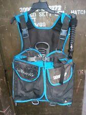 Sherwood Scuba Silouette BC/BCD Buoyancy Compensator Device Vest Size Medium