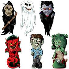Fiesta de Halloween Pequeño Monstruo Criatura Filtrante apoyos de Plástico Colgante Decoraciones