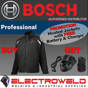 BOSCH 12V 18V Heated Jacket *+ FREE Battery and Charger* USB Electric GHJ 12+18V