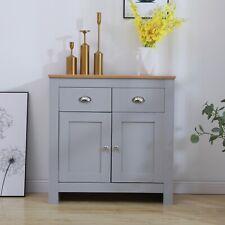 Glasgow Storage Sideboard Cabinet with 2 Drawer & 2 Door Wooden Cupboard Unit