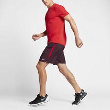 "Nike Men's Dry Challenger 7"" Running Shorts Red 644242-681 XXL NWT RARE New $35"