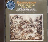 Rachmaninov : Concerts N.2 & 3/Alexander Brailowky, Byron Janis - CD
