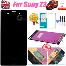 5.2'' For Sony Xperia Z3 D6603 LCD Display Touch Screen Digitizer Replacement