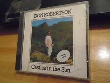 SEALED RARE PROMO OOP Don Robertson CD Castles In the Sun new age ambient 1988 !