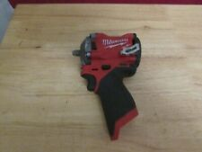 """Milwaukee (2554-20) M12 Fuel Stubby 3/8"""" Impact Wrench- tool only 763"""