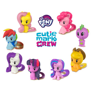 2018 McDonald's Hasbro My Little Pony Cutie Mark Crew Drop Dwn Menu Select Mint
