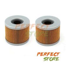 2 Oil Filter For Honda Foreman Rubicon 500 Rancher 400 Rincon 650 680 TRX400 500