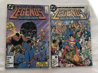DC Comics Legends Mini Series #1-6 Byrne Ostrander 1986 - 1st Suicide Squad