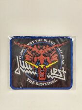 Judas Priest The Sentinel for Jacket, T-shirts, Iron on Woven Badge U.S Seller