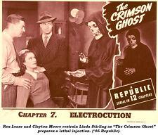Crimson Ghost - Cliffhanger Serial Movie DVD Charles Quigley Linda Stirling