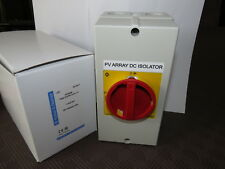 Kraus & Naimer KFD25B PV Array DC Isolator Switch Photovoltaic 25A German made