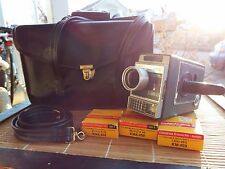 VTG Kodak Electric 8 Automatic Early Movie Camera leather Carry Case 13mm Film