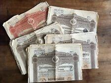 Emprunt Chemins Fer Russe 1889  35 obligations 125 roubles + une de 1250 rouble