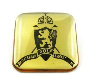 Bulgarian Golf Association Pin Badge