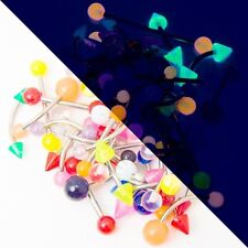 Wholesale Assorted Piercing Barbells and Curved Barbells mix gauges