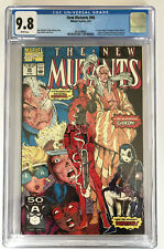 New Mutants #98 CGC 9.8 HOT🔥🔥🔥/HTF 1st Appearance of DEADPOOL