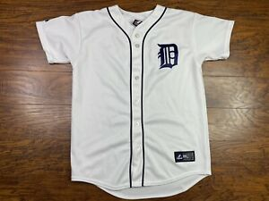 Majestic MLB Detroit Tigers Prince Fielder White Jersey Size Small White P1