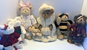Vintage Bearington Bear collection 6 total