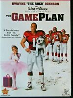 The Game Plan DVD, 2008,  Disney Movie  Dwayne Johnson The Rock