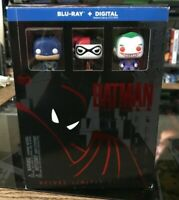 Batman the Animated Series Blu-Ray Digital SD Deluxe Limited Ed. *Open* Complete
