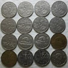 Canada 1922-1947 5 Cents Collection, 16 Different Dates