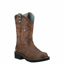 Ariat US 9.5 EU 41 ProBaby Western Cowgirl Rodeo Brown Womens Boots New
