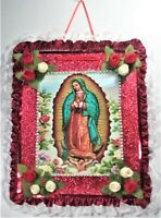 Virgen De Guadalupe Hecho A Mano - Our Lady Of Guadalupe Handmade Frame