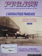 1/2005 PEGASE 115 INDUSTRIE AERONAUTIQUE CANNES GUERRE WWII SO 161 SOUFFLERIE