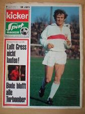 KICKER 22 -17.3. 1969 * Gilbert Gress Jürgen Friedrich Stuttgart - Bayern 3:0