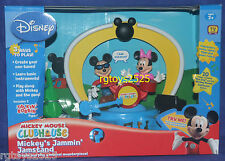 Disney Mickey Mouse Clubhouse Mickey's Jammin' Jamstand Talkin' Bobbin' New 08