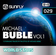 MICHAEL BUBLE VOL 1 SUNFLY KARAOKE CD+G