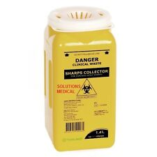 SHARPS CONTAINER DISPOSAL COLLECTOR 1.4 LITRE SCREW TOP TERUMO