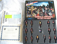 "2005 GI Joe Convention ""Heroes in Action"" ""General Mayhem MARS Invades"" Box Set"