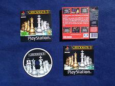 JEU Sony PLAYSTATION PS1 PS2 : CHECKMATE II (2) [échecs COMPLET envoi suivi]