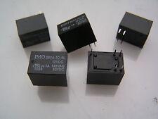 OMI SRFA - 1C-SL 12VDC 5A Bobina de relé 1A 125VAC/30VDC SPCO 5 piezas I210A MBF009a