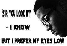 Rapper Kid Cudi - Sir you look Hy - A3 Art Poster Print