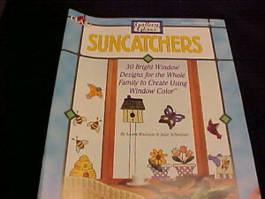 Gallery Glass Sun Catcher Book 30 Designs Holiday Redi Lead More