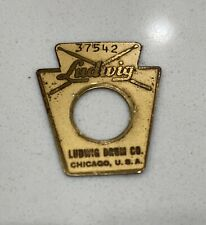1965 VINTAGE LUDWIG KEYSTONE BADGE 37542, BRILLIANT CHECK IT OUT!