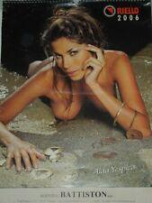 """AIDA YESPICA-RARO CALENDARIO DELLA """"RIELLO"""" ANNO 2006 FOTOGRAFO DARIO PLOZZER"""