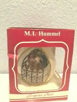 M.I. Hummel Christmas Ornament 1989 heavenly Lullaby Figurine 262